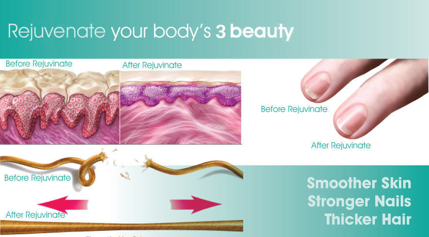 Rejuvenate your body's 3 beauty