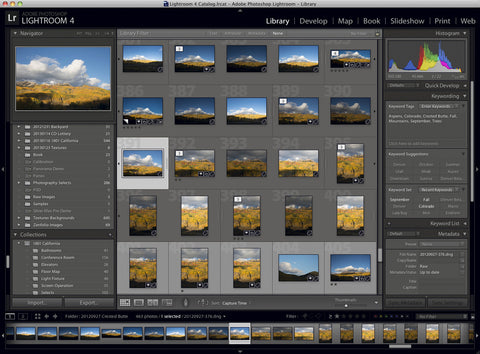 LR1: Starting with Lightroom - The Library