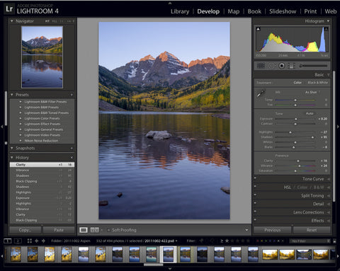 LR2: Lightroom Develop Basics