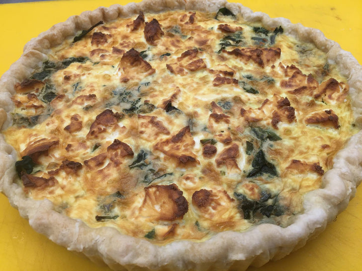 Making a Return to Four Flours-Quiche!