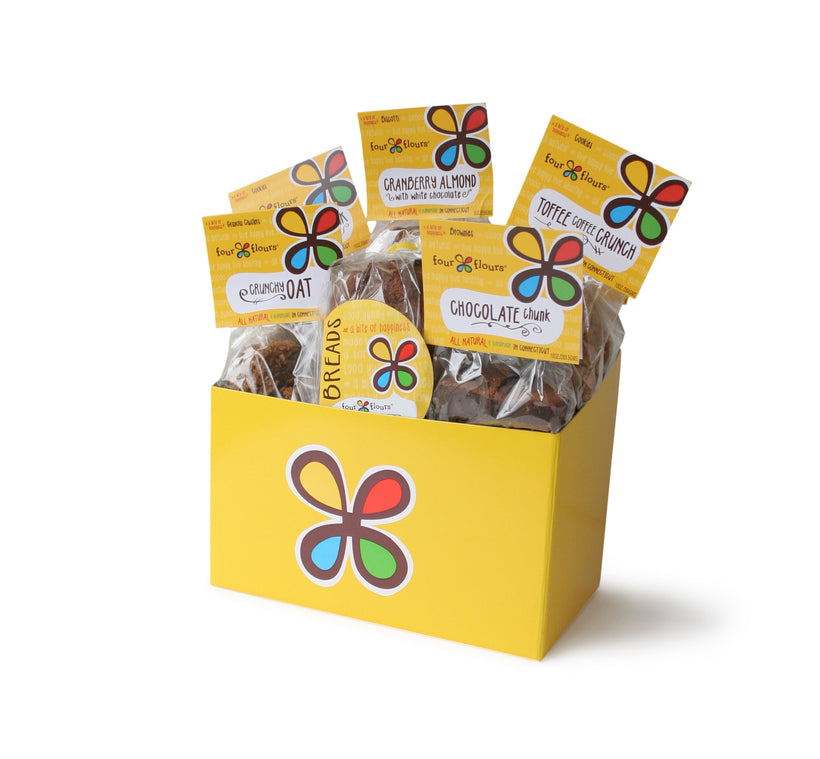 Four Flours Mixed Delights<br>Gift Box