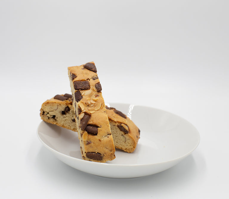 Milk Chocolate Almond Biscotti