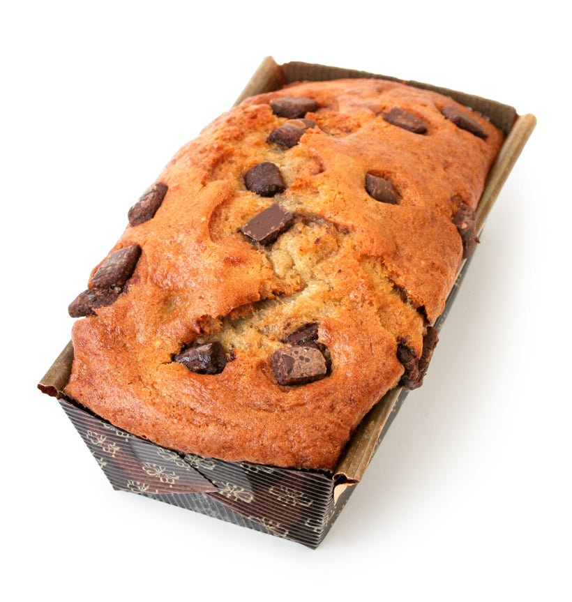 Banana Chocolate Chip<br>Tea Bread