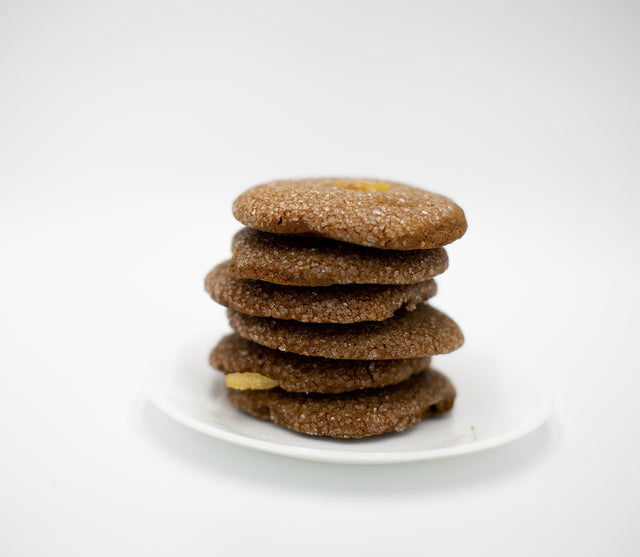 Whole Wheat<br>Ginger Spice Cookies