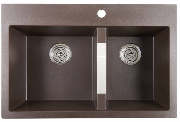 Brown Granite Kitchen Sink