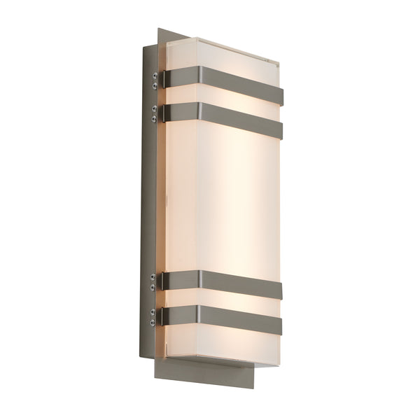Led Outdoor Wall Light, Stainless Steel