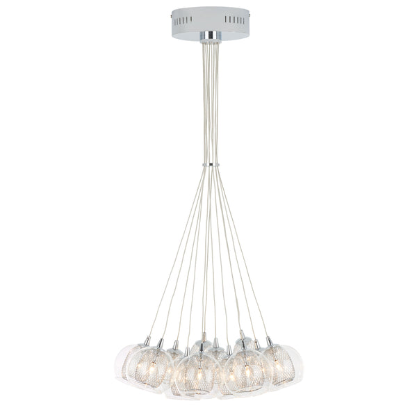 12-Light Modern Pendant Light