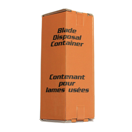 BLADE DISPOSAL CONTAINER