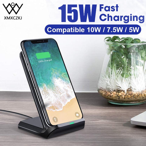 XMXCZKJ 15W Qi Wireless Charger Stand
