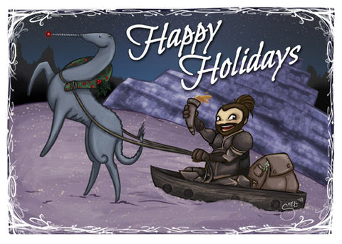 Salt and Sanctuary Holiday Cards