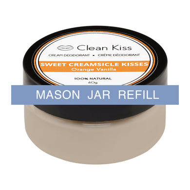 Clean Kiss Deodorant - Orange Vanilla