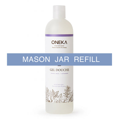 Oneka Shower Gel - Angelica & Lavender