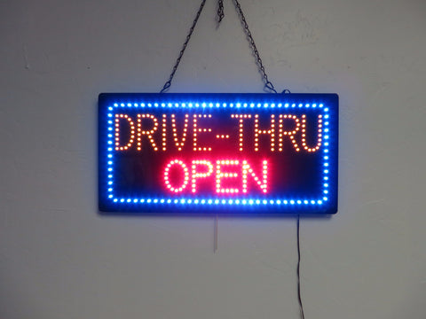LED Drive-Thru Sign 001