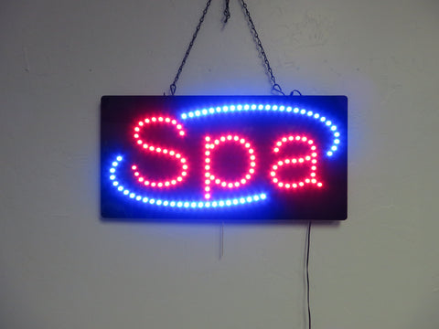 LED Spa Sign