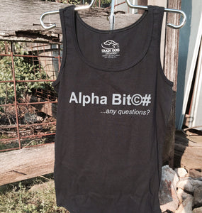Ladies Alpha Bit©#-Any Questions