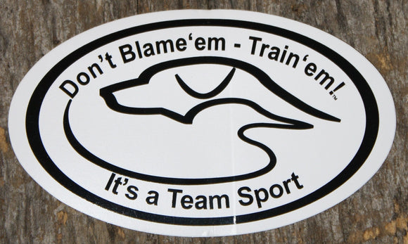 Decal - Don't Blame'em
