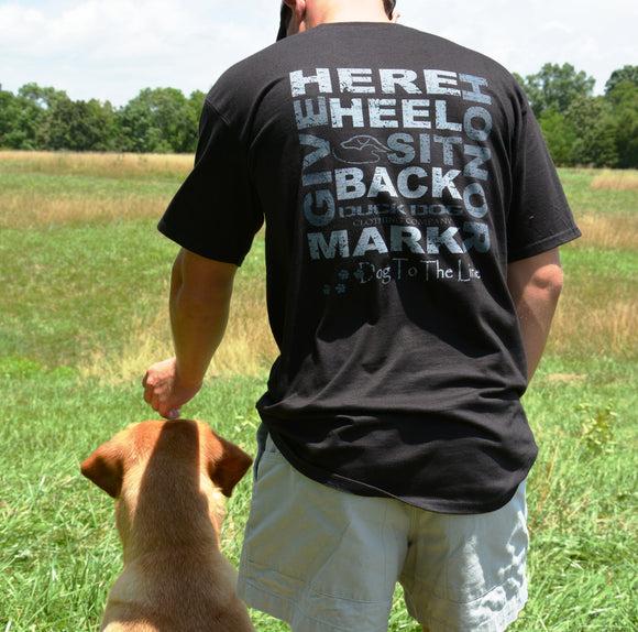 Short Sleeve T's - Dog to the Line