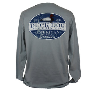 Long  Sleeve Pocket T's - Canvas Back
