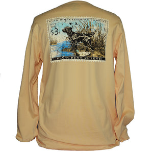 Long Sleeve Dog Stamp