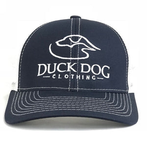 Full Logo-Flat Bill ~ Navy/White