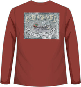 Long Sleeve - Green Winged Teal