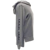 Duck Dog Clothing Ladies Drop Tail Hoodie Grey Side