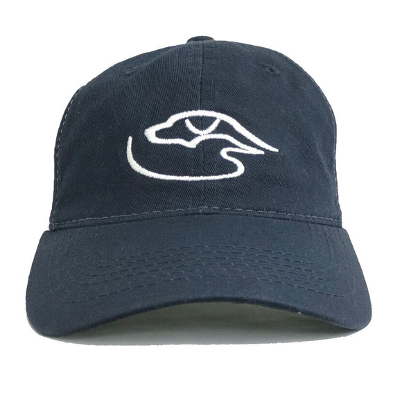Trucker Logo ~ Navy/White