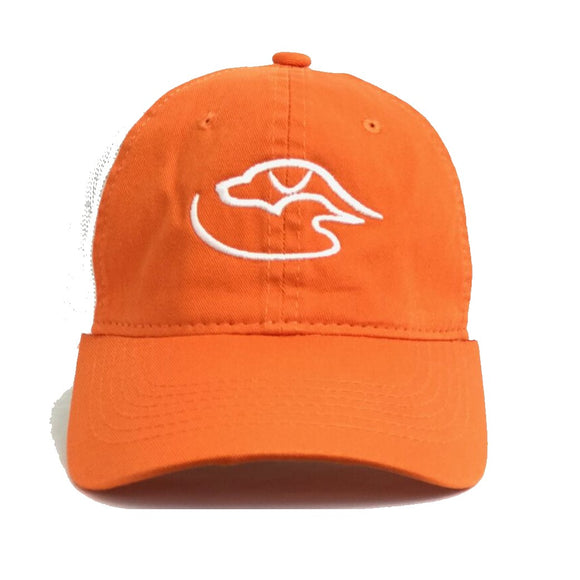 Trucker Logo ~ Orange/White