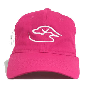 Trucker Logo ~ Pink/White {Ladies Fit}