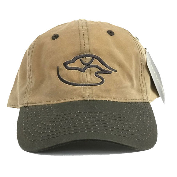 Trucker Logo ~ Waxed Brown/Tan