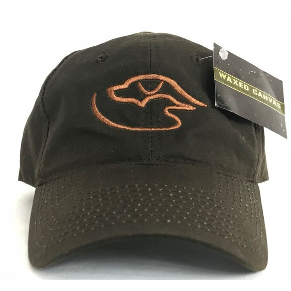 Trucker Logo ~ Waxed Brown/Brown