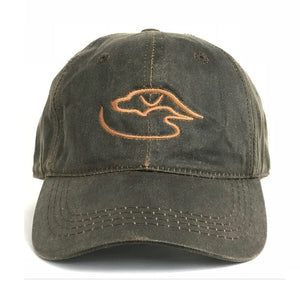 Trucker Logo Weathered ~ Brown/Brown