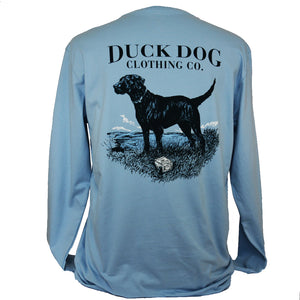 Long Sleeve Pocket T's - Lookout