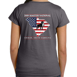 Master National 2019 - Ladies S/S Sleeve Crew Neck American Pride