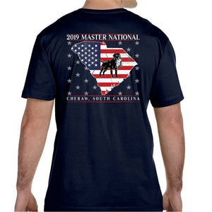 Master National 2019 Men's S/S T-Shirt - American Pride Navy