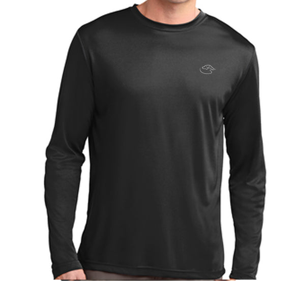 Men's Logo Long Sleeve - Performance