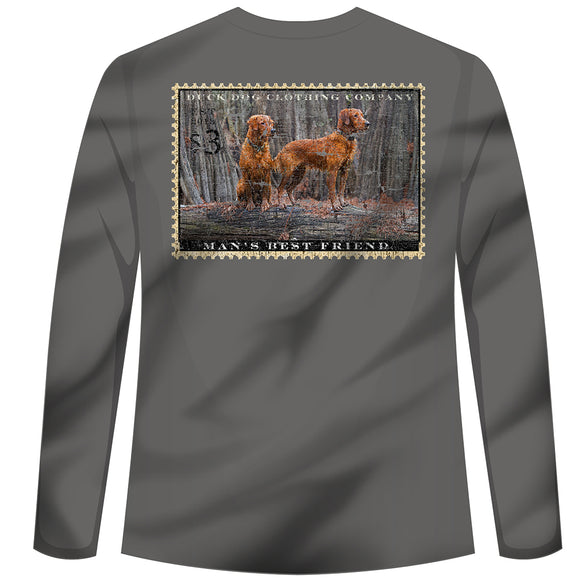 Long Sleeve - The Boys - Golden Retriever