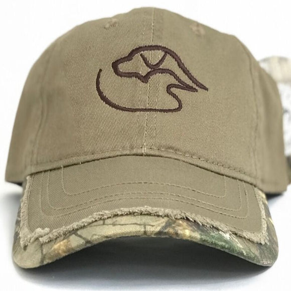 Trucker Logo ~ Bronze Realtree