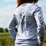 Long Sleeve Duck Dog Clothing (Back)
