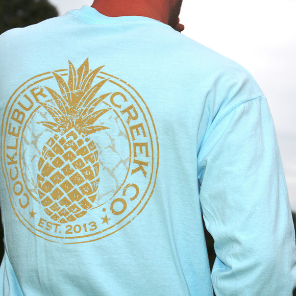 Long Sleeve Pocket CC Pineapple