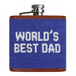 J - SB Flask World's Best Dad
