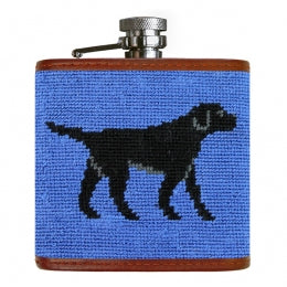 J - SB - Flask - Black Lab