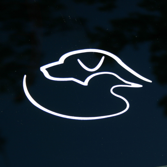 Decal - Reflective/White
