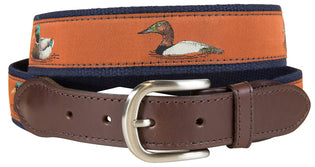 J - BC Belt - Waterfowl - Sienna on Navy