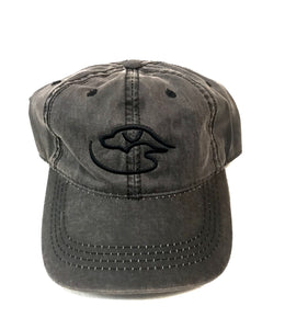 Trucker Logo Weathered ~ Black