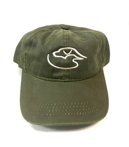 Trucker Logo Weathered ~ Olive