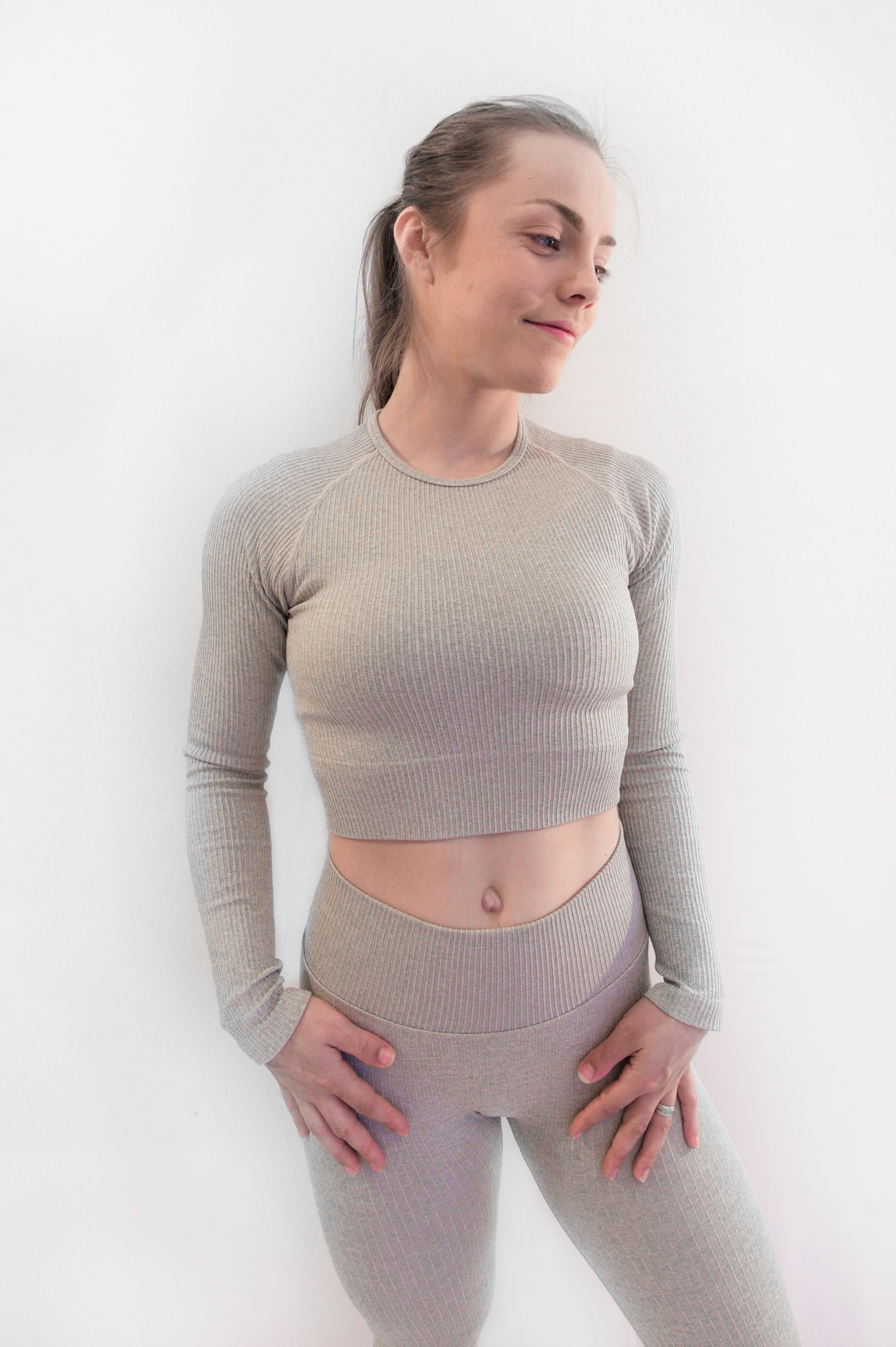 Crop Top Yoga Sans Couture