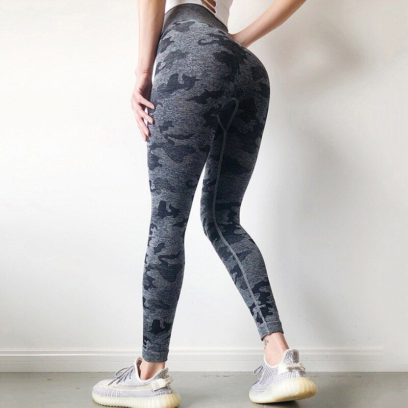 Legging Camo Sans Couture