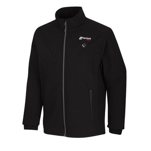 Men's Insulated Softshell Heated Jacket - Outlast 2.0 - Black