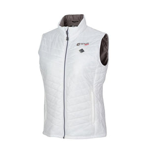Load image into Gallery viewer, Women's Tri-Zone Insulated Heated Puffer Vest - Roam 2.0 - White - FINAL SALE